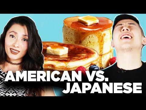 American Vs. Japanese: Pancakes