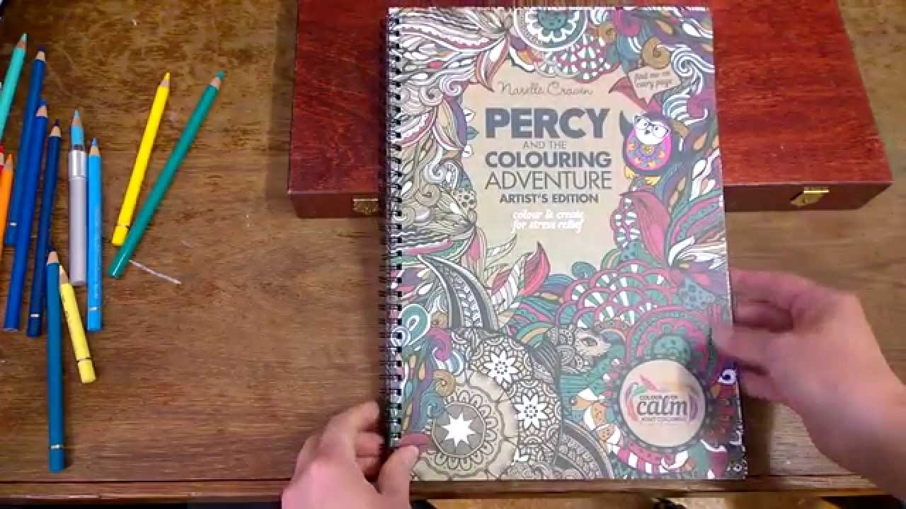 Colouring Book Review Percy And The Adventure Artists Edition