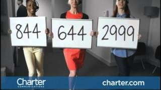 Charter Triple Play 2014 Ad Commercial - Dancing in Office - Charterators are Standing By