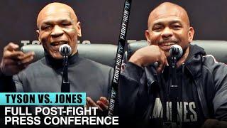 MIKE TYSON VS. ROY JONES JR. | FULL POST-FIGHT PRESS CONFERENCE VIDEO