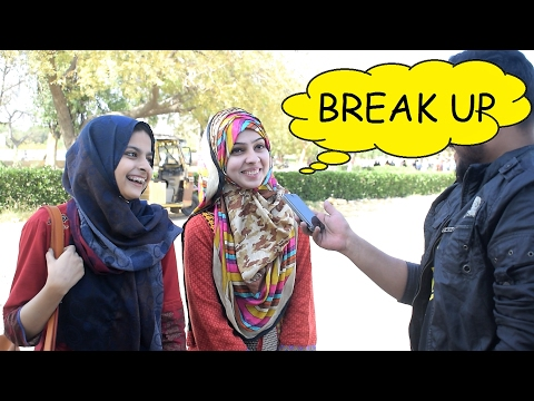 How to BreakUp !!  (Karachi University)  || Desi Reaction Team