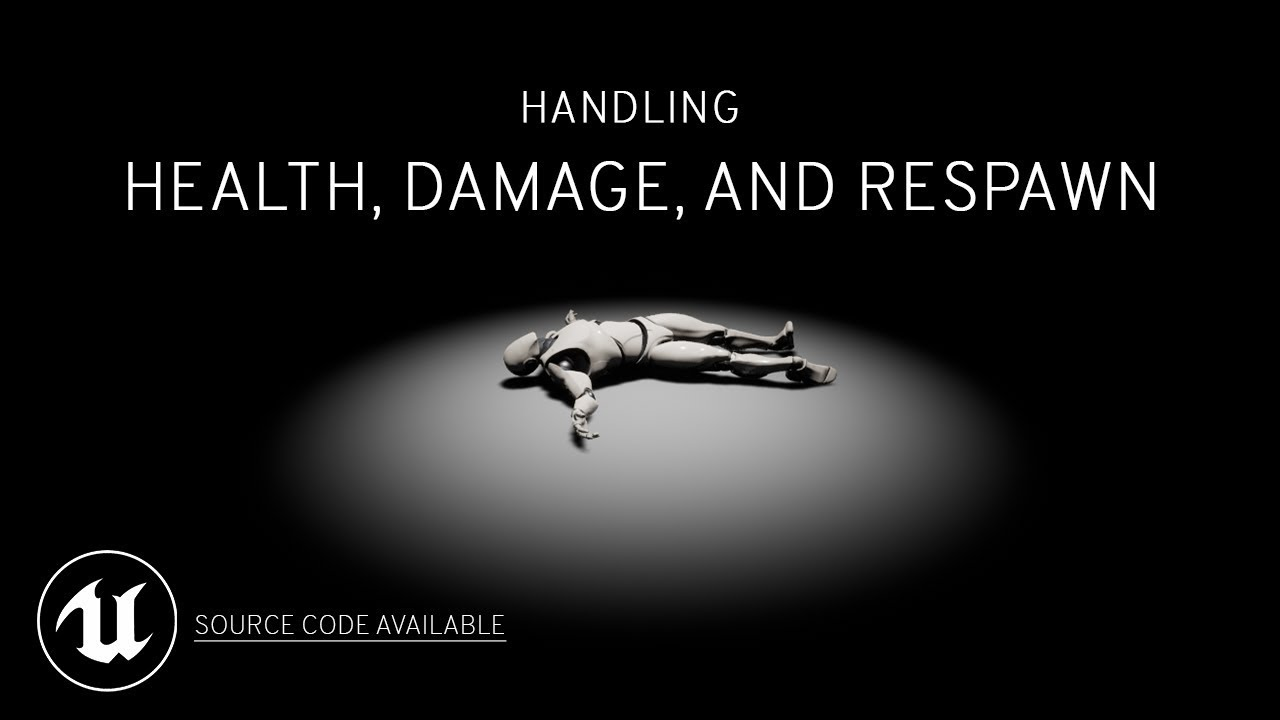 Download Health, Damage, and Respawn Tutorial for Unreal Engine 4 (Blueprints)