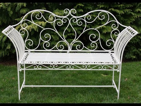 Garden metal furniture Diy The Best Metal Garden Tables And Chairs 2015 Calver Sough Nurseries The Best Metal Garden Tables And Chairs 2015 Youtube