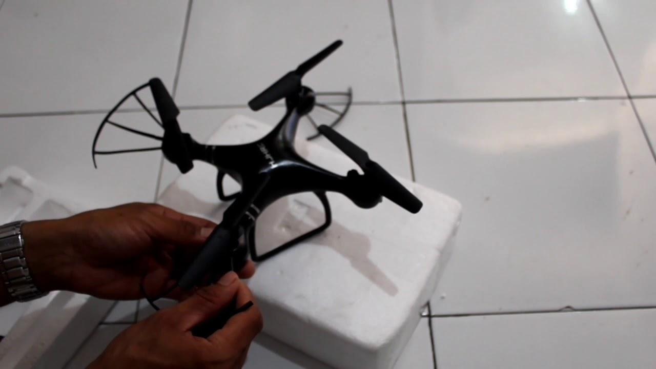 Tutorial memasang Drone HJHRC Mudah dan Murah
