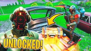 Get the blockbuster skin faster with RELATED Fortnite TRICK! | WeissStudio
