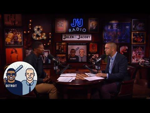 Jalen Rose Evaluates Life-Size Balloon Statue Of Joel Embiid | Jalen & Jacoby | ESPN