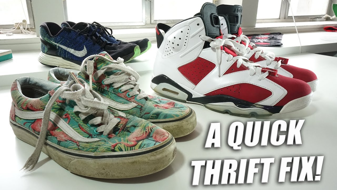 the best attitude 84f26 93f0f Jordan Carmine 6   A Quick Thrift Fix!!