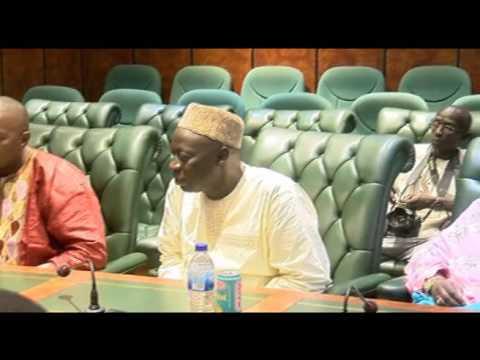 President Jammeh Phone Call to Adama Barrow