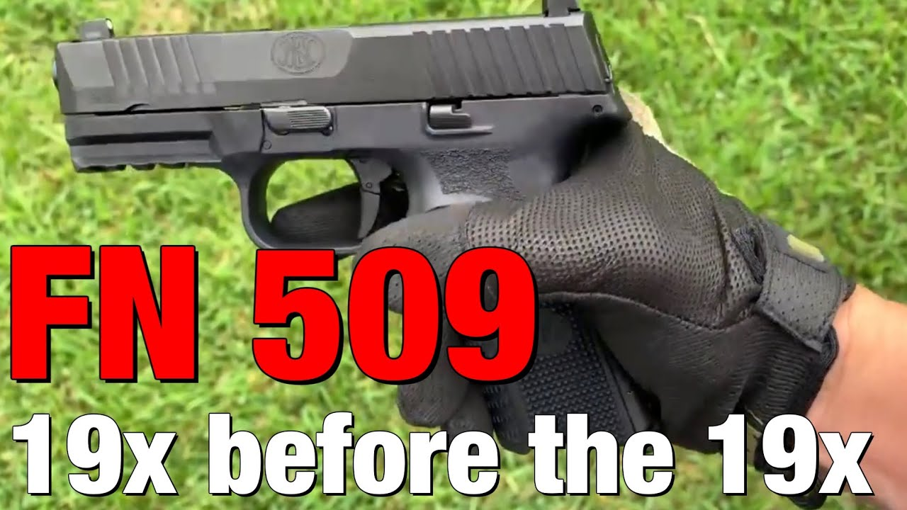 "Did the FN 509 beat the Glock 19X in ""innovativeness""?"
