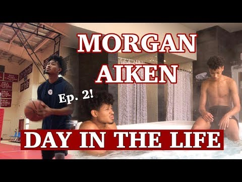 "Pro MORGAN AIKEN: Day In The Life, ""Shooting Clinic, Church League, & Ice Recovery"" Episode 2"