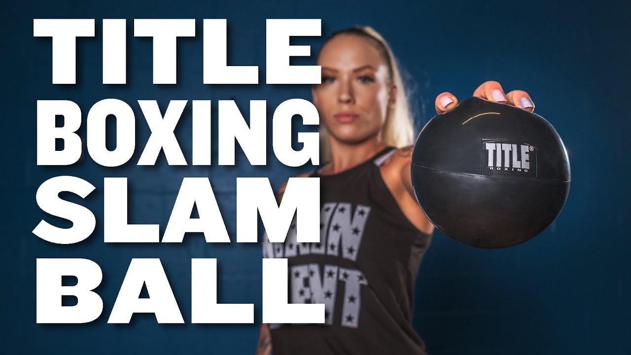 TITLE Boxing Rubber Slam Ball #RBPL 6 BK