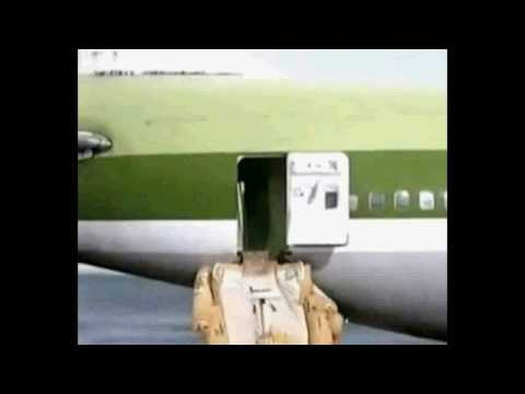 Plane Lands On Beach So Funny