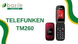Telefunken TM 260 présenté par Bazile Telecom
