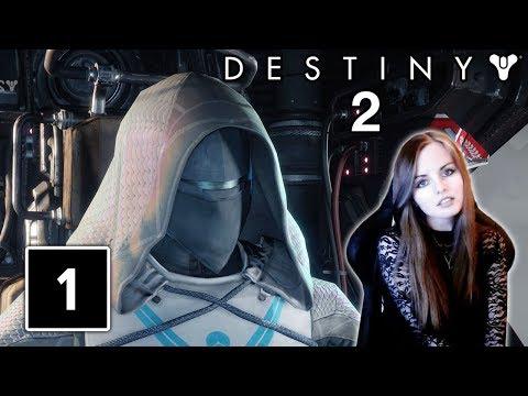 IT'S THIS GOOD?! | Destiny 2 Beta Gameplay Walthrough Part 1 - Hunter Class!
