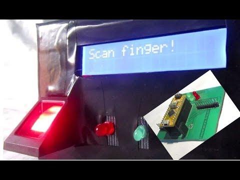 How to Make a Fingerprint Machine - Identity verification | DIY | Arduino |  Adafruit sensor
