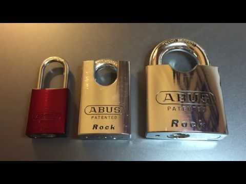 """[246] Abus 83CS/55 """"Rock"""" Padlock Picked and Gutted"""