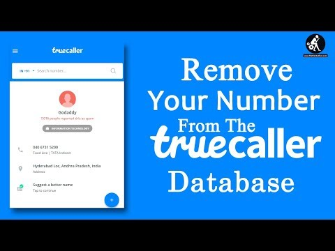 How To Delete Phone Numbers From The TrueCaller's Database