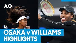 Naomi Osaka vs Serena Williams Match Highlights (SF) | Australian Open 2021