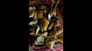 Рецепт курицы, запеченной с чесноком, луком и коньяком