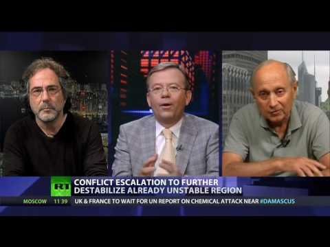 CrossTalk - Israel vs Syria (Pepe Escobar)