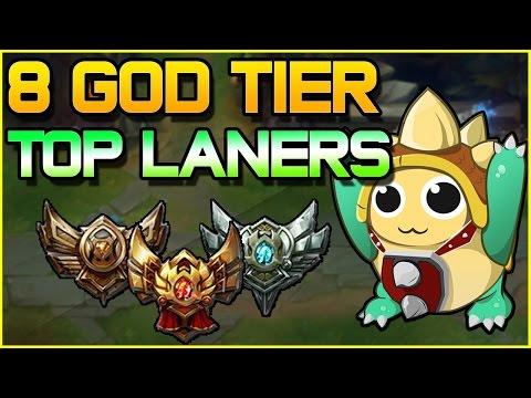 8 God Tier Top Laners For Low ELO | League Of Legends