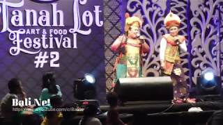 FULL LUCU!!! Celekontong Mas Tanah Lot Art & Food Festival #2 2018