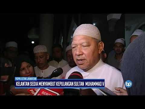 Kelantan Sedia Sambut KepulanganSultan Muhammad V