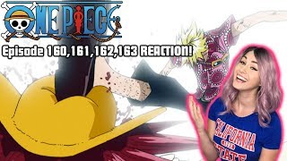 ORDEAL OF LOVE! One Piece Episode 160,161,162,163 REACTION!