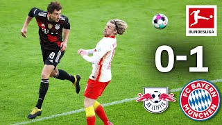 Bayern go seven points clear of Leipzig | RB Leipzig - FC Bayern München | 0-1 | Highlights | MD 27