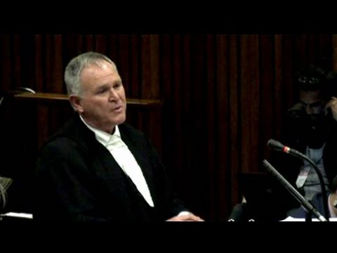 Oscar Pistorius Trial: Friday: 08 August 2014, Session 1