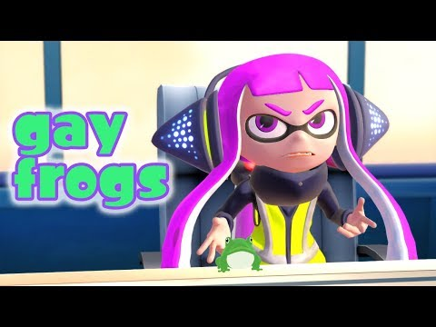 [Splatoon] gay frogs 🐸🐸[MMD]