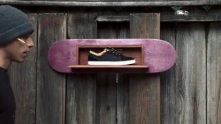 DVS Zack Wallin Aversa shoe display