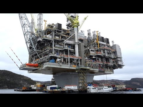 A look at Newfoundland's massive Hebron oil platform