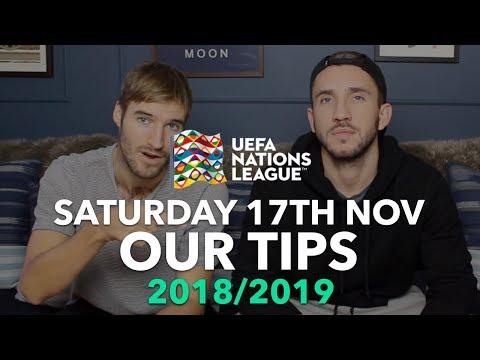 UEFA Nations League Tips - Saturday 17th November