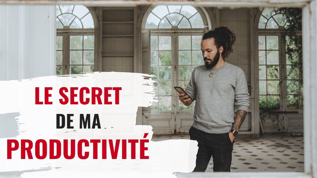 Comment je fais pour faire autant (le secret de ma productivité) - YouTube