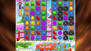 Candy Crush - How To Beat Level 375 in Candy Crush Walkthrough Saga - No Boost - Score - A Lot
