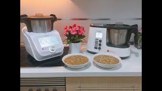 Comparativa Monsieur Cuisine Connect y Monsieur Cuisine Plus + Receta lentejas con arroz