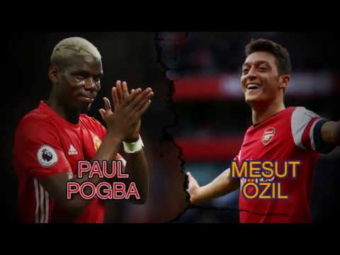 Man United v Arsenal: Pogba v Ozil