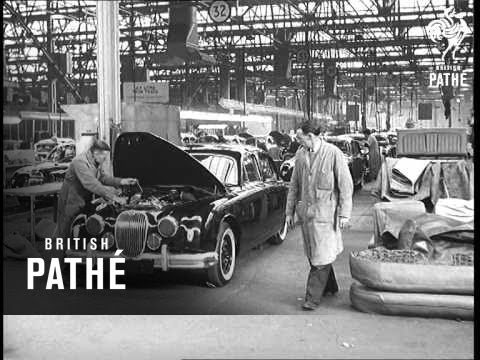 Selected Originals   Jaguars Come Back Fighting Aka Fire At Jaguar Plant  (1957)   YouTube
