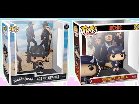 """Funko's 'Pop! """"Highway To Hell"""" and Motörhead's """"Ace Of Spades"""" figures out!"""