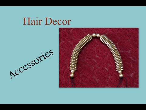 do it yourself hair decor accessories youtube. Black Bedroom Furniture Sets. Home Design Ideas