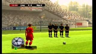 Coup franc de Steven Gerrard - FIFA Football 2005 [Xbox]