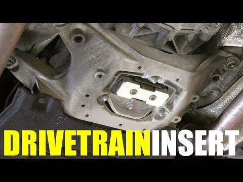 How to Install Drivetrain Inserts | B8.5 Audi S4