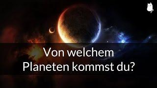 Von welchem Planeten kommst du? [Persönlichkeitstest]