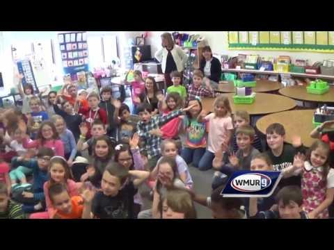 School visit: 2nd-graders at Harold Martin School in Hopkinton