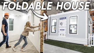 A Look Inside a $50,000 FOLDABLE Tiny House