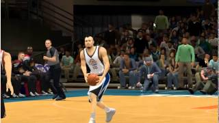 NBA 2K14 | Rokie Showcase | Orta sahadan basket !