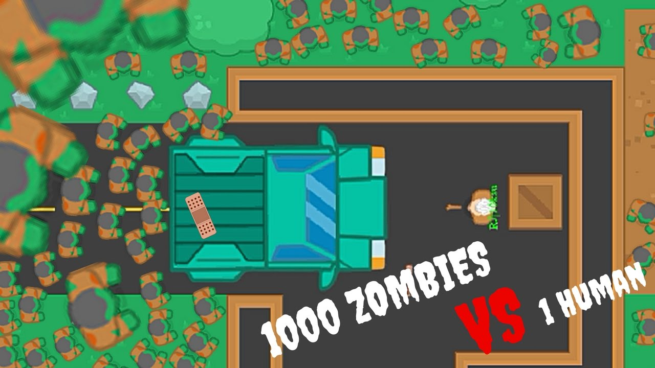 Braains.io - Epic 1000 Zombies VS 1 Human / Map Updated ...