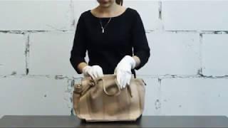 Обзор сумки из натуральной кожи. Марка RIPANI, Италия