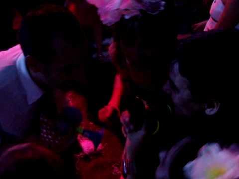 Karaoke en la cena de Río Uruguay